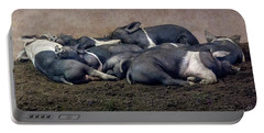 A Pile Of Pampered Piglets Portable Battery Charger