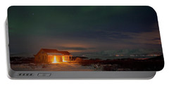 Portable Battery Charger featuring the photograph A Place For The Night, South Of Iceland by Dubi Roman