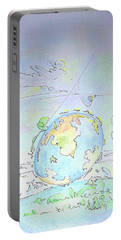 A Planet Remembered Portable Battery Charger