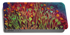 A Poppy Tapestry Portable Battery Charger