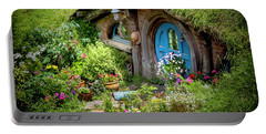 A Pretty Hobbit Hole Portable Battery Charger