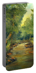 A Quiet Place Portable Battery Charger by Gail Kirtz