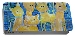 A Quorum Of Cats Portable Battery Charger