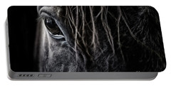 Portable Battery Charger featuring the photograph A Race Horse Named Tikki by Brad Allen Fine Art