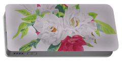 A Rose Bouquet Portable Battery Charger
