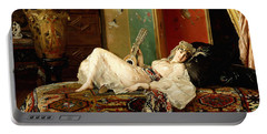 A Reclining Odalisque Portable Battery Charger