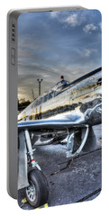 A Reflective Mustang Portable Battery Charger by David Collins
