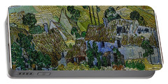Portable Battery Charger featuring the painting A Replica Of A Painting  Of Van Gogh by Pemaro