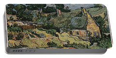 Portable Battery Charger featuring the digital art a replica of the landscape of Van Gogh by Pemaro