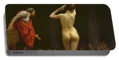 A Roman Slave Market, Jean Leon Gerome Portable Battery Charger