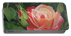A Rose Portable Battery Charger