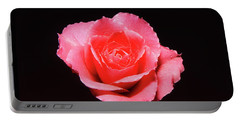 A Rose Is A Rose Is A Rose Portable Battery Charger