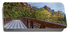 A Scenic Hike Portable Battery Charger