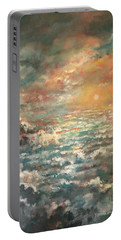 A Sea Of Clouds Portable Battery Charger