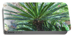 A Shady Palm Tree Portable Battery Charger