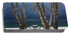 Portable Battery Charger featuring the photograph A Simple Winter Scene by Sean Sarsfield