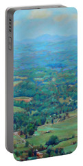 A Slow Summer's Day- View From Roanoke Mountain Portable Battery Charger