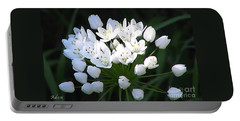 Portable Battery Charger featuring the photograph A Spray Of Wild Onions by Felipe Adan Lerma