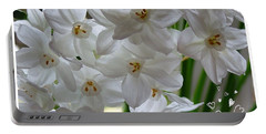A Spring Wedding Portable Battery Charger