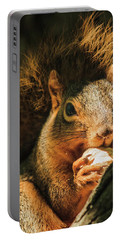 A Squirrel And His Nut Portable Battery Charger