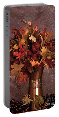 A Still Life For Autumn Portable Battery Charger by Sherry Hallemeier
