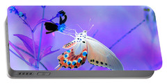 A Strange Butterfly Dream Portable Battery Charger