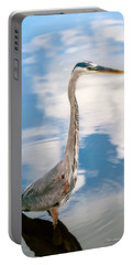 Portable Battery Charger featuring the photograph A Stroll Among The Clouds by Christopher Holmes