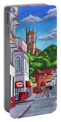 A Stroll On Melville Street Portable Battery Charger