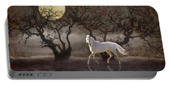 Portable Battery Charger featuring the photograph A Summer Night's Dream by Melinda Hughes-Berland