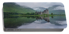 A Summers Morning At Kilchurn Portable Battery Charger