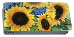 A Sunny Arrangement Portable Battery Charger