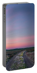 Portable Battery Charger featuring the photograph A Sunrise Path by Leland D Howard