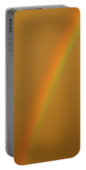 A Sunset Rainbow Portable Battery Charger