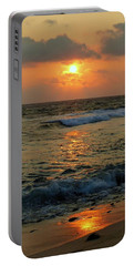 Portable Battery Charger featuring the photograph A Sunset To Remember by Lori Seaman