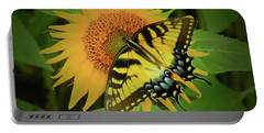 A Swallowtail Butterfly Portable Battery Charger