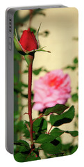 A Tale Of Two Roses Portable Battery Charger