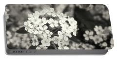 A Thousand Blossoms In Sepia 3x4 Flipped Portable Battery Charger