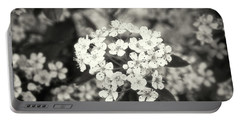 A Thousand Blossoms Sepia 3x2 Portable Battery Charger