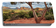 A Tree In Sedona Portable Battery Charger