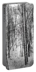 A Tree's View In Winter Portable Battery Charger