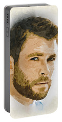 A Tribute To Chris Hemsworth Portable Battery Charger