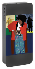 A Tribute To Jean-michel Basquiat Portable Battery Charger