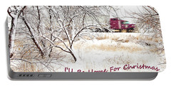A Trucker's Christmas Card Portable Battery Charger