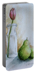 A Tulip And Two Pears Portable Battery Charger