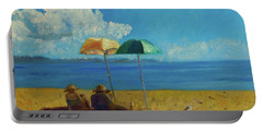 A Vacant Lot - Byron Bay Portable Battery Charger by Paul McKey