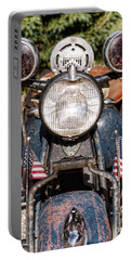 A Very Old Indian Harley-davidson Portable Battery Charger
