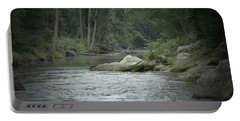 A View Downstream Portable Battery Charger by Donald C Morgan