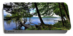 Portable Battery Charger featuring the photograph A View From Covewood by David Patterson