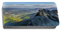 Portable Battery Charger featuring the photograph A View From The Cliffs by Lori Coleman