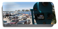 A View Of Destin Harbor Portable Battery Charger